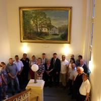 Спільне фото учасників підписання угоди з містом Підписання угоди з містом Хотеборж