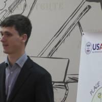 представник молодіжної ради Закарпатської області та ГО «Простір молоді» Ернест Самсончик