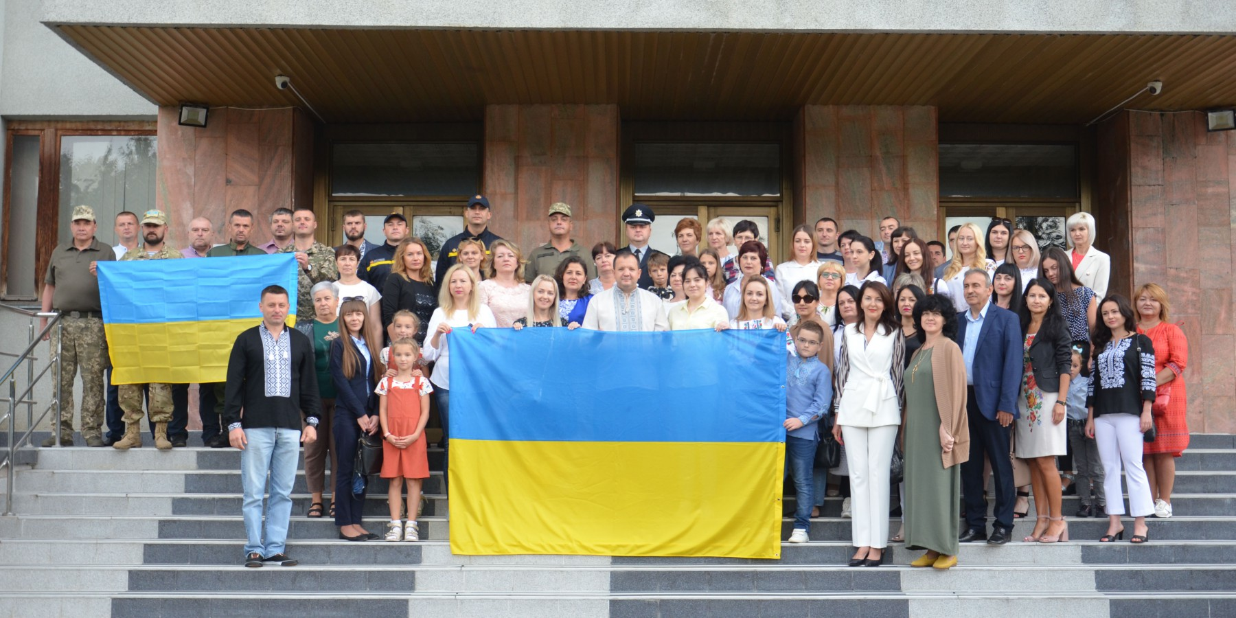 З Днем Державного Прапора України і 30-ю річницею Незалежності України!