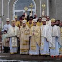 Хресний хід навколо храму з читанням Св. Євангелії .фото В.Салітри