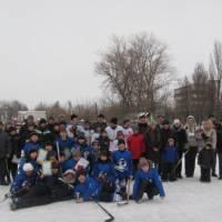 Відкритий турнір з хокею! 18.02.2012р. фото В.Салітри