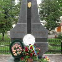 Пам'ятник воїнам УПА фото В.Салітри