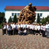 Делегація с.В.Дорожів. Фото В. Салітри 14.06.2019 р.
