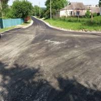 Проведено капітальний ремонт дорожнього покриття частини вулиці Танкістів.