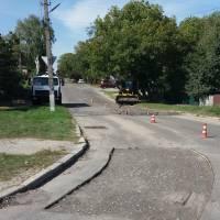 В Таращі проведено низку ремонтів дорожнього покриття вулиць