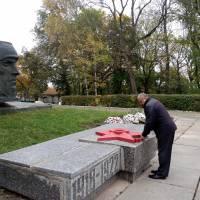 З Днем визволення України від фашистських загарбників.