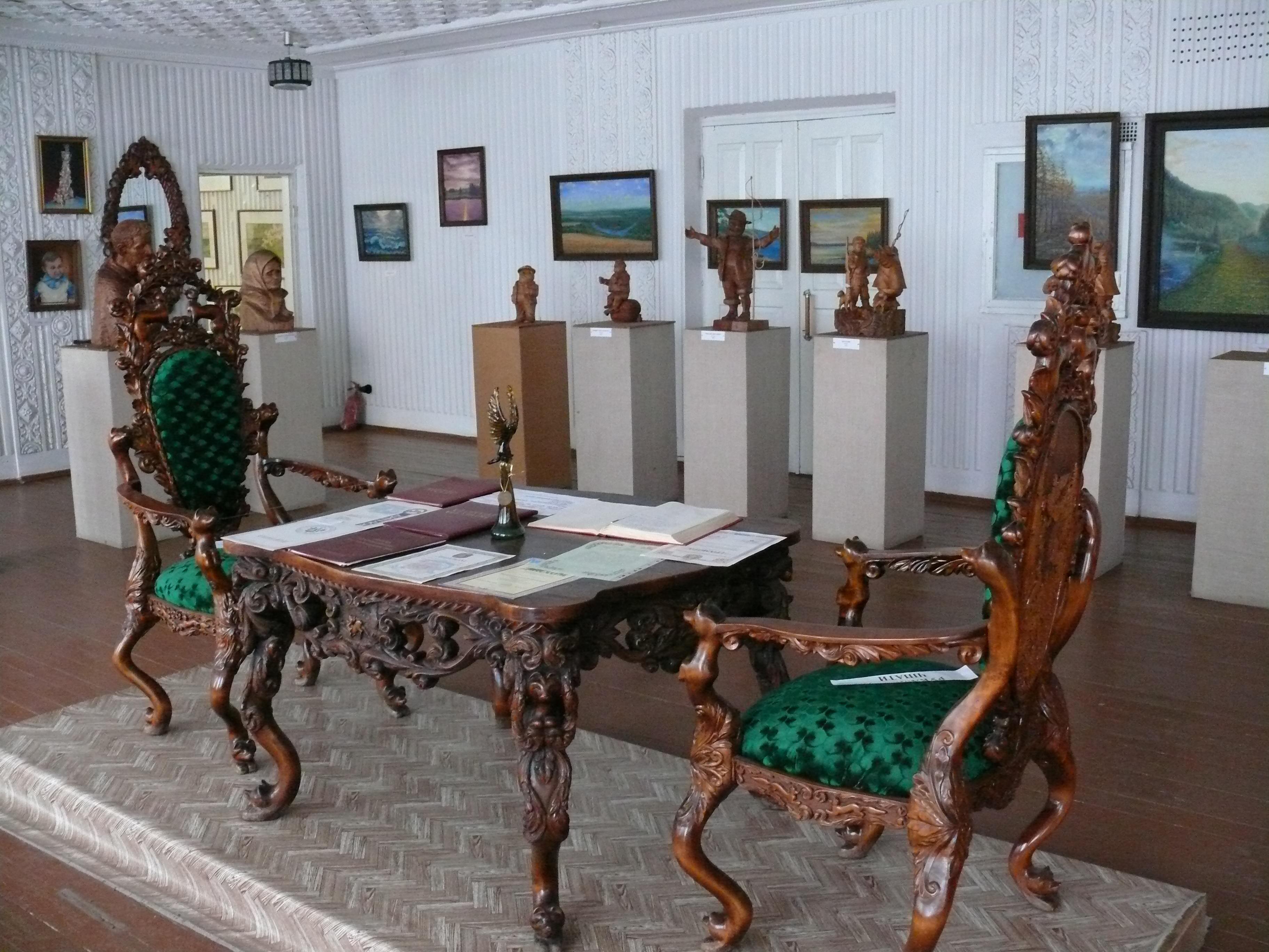 Народний музей – виставка творів самодіяльного художника Г. Г. Пилипишена