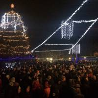 Відкриття Головної Новорічної ялинки міста Гайворона (19.12.2016 р.)