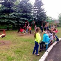 Новий дитячий майданчик в західній частині міста, відкриття якого відбулось на День захисту дітей.