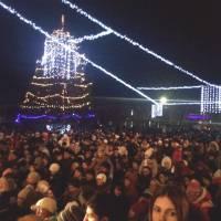 Відкриття Новорічної ялинки 19.12.2016 р.