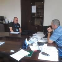 Зустріч з представниками ОБСЄ