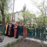 """Молебень біля пам'ятного знаку """"Героям і жертвам Чорнобиля"""" м.Турка пл.Ринок"""