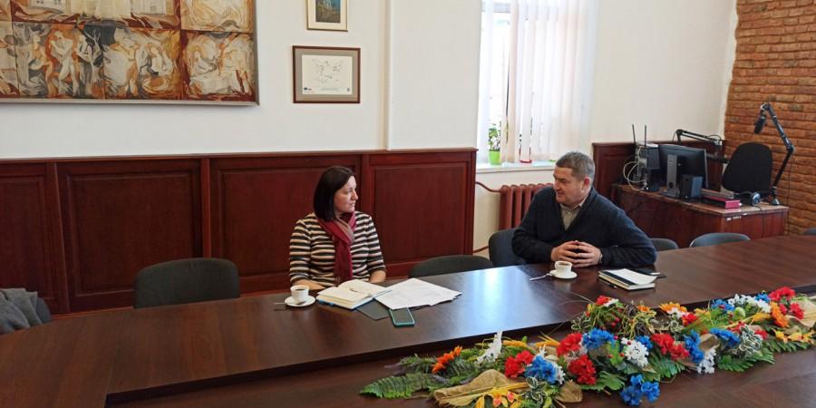 Зустріч з регіональним координатором німецько-українського проєкту «Муніципальні партнерства з Україною»  Валентиною Гнасюк-Терлецькою