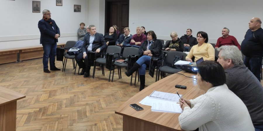 Засідання робочої групи по ТОВ