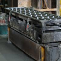Вібропрес для бетонних плит