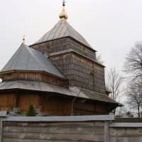 Памятка архітектури - Деревяна церква