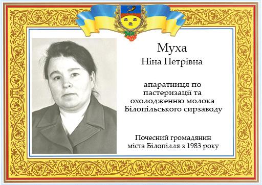 Муха Ніна Петрівна