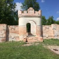 Вигляд фортеці до реставрації