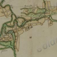 План міста з Плану Генерального межування 1784 р.