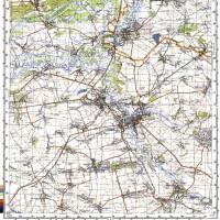 Карта Генштабу 1943 рік