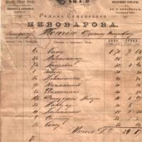 Накладна магазину Пивоварова