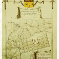 План міста 1787 р.