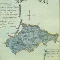Карта Білопільського повіту кінець18 ст.