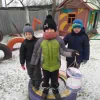 Зима - весела пора року