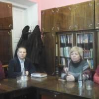 засідання конкурсної комісії на заміщення вакантної посади керівника закладу культури
