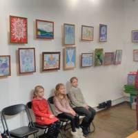 виставка учнів відділу образотворчого мистецтва Кременецької школи мистецтв ім. Вериківського