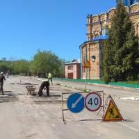 Плановий ремонт доріг у Кременці