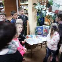 До Дня Святого Миколая у міській бібліотеці для дітей була проведена подорож у казку