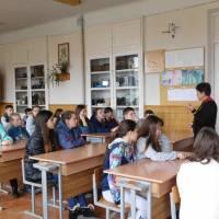 в навчальних закладах міста відзначали День Гідності та Свободи