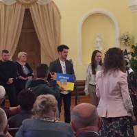 Нагородження Відзнакою імені Олександра Капіноса