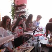 День вишиванки  в Кременецькій міській бібліотеці для дорорслих