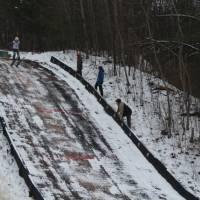 чемпіонат серед юнаків та юніорів з стрибків на лижах з трампліната лижного двоборства