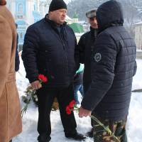 Вшанування учасників бойових дій на території інших держав у Кременці