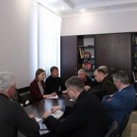 Засідання оргкомітету до футбольного турніру пам`яті Михайла Баліцького