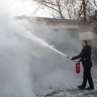 Відбулися навчання з протипожежної безпеки