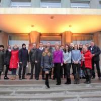 прес-брифінг, присвячений Міжнародному дню боротьби за ліквідацію насильства щодо жінок