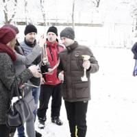 відкриття та закриття Х - го традиційного турніру на снігу з міні футболу