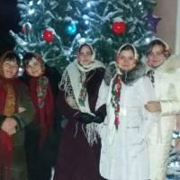 с.Старий Скалат Різдвяні привітання