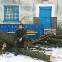 Підготовка до опалювального сезону  сільського клубу с.Текліївка