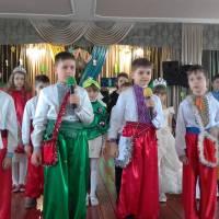 с.Новосілка Новорічний карнавал