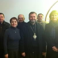 Зустріч з владикою Бучацької єпархії УГКЦ Д.Григораком 28 листопада 2014 року