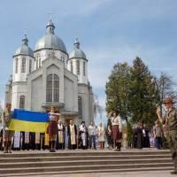 День першої Пластової Присяги в місті Підгайці