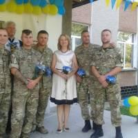 Воїни АТО в Підгаєцькій гімназії їм. Паславського