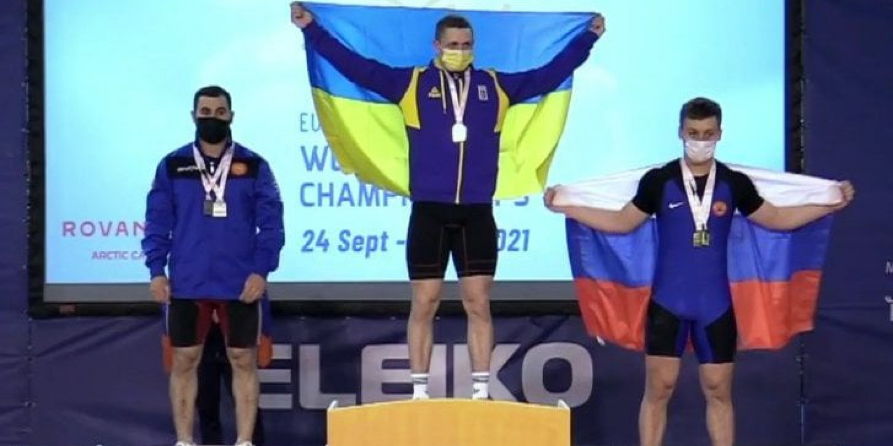 Валківчанин Максим Москвін  - Чемпіон Європи із важкої атлетики