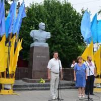 Міський голова - В. Сітов, депутат райради - Р. Угненко