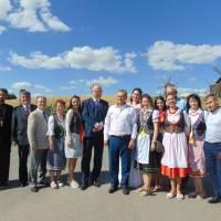 Делегація оглянула краєвиди села Водяники